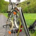 Fahrradpanne am Maiausflug